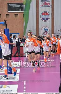 Volley 2002 Forlì - Volley Soverato FINALE A2 Coppa Italia 2016.  Pala De Andrè Ravenna 20.03.2016. FOTO: Daniele Ricci © 2016 Volleyfoto.it, all rights reserved [id:20160320.DSC_2907]