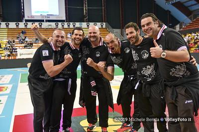 Premiazione BARTOCCINI GIOIELLERIE PERUGIA  per la promozione in SERIE A1 IT, 27 aprile 2019 - Foto: Michele Benda per VolleyFoto.it [Riferimento file: 2019-04-27/NZ6_3136]