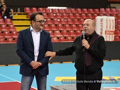 Premiazione BARTOCCINI GIOIELLERIE PERUGIA  per la promozione in SERIE A1 IT, 27 aprile 2019 - Foto: Michele Benda per VolleyFoto.it [Riferimento file: 2019-04-27/NZ6_3207]