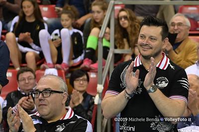 Premiazione BARTOCCINI GIOIELLERIE PERUGIA  per la promozione in SERIE A1 IT, 27 aprile 2019 - Foto: Michele Benda per VolleyFoto.it [Riferimento file: 2019-04-27/NZ6_3224]