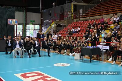 Premiazione BARTOCCINI GIOIELLERIE PERUGIA  per la promozione in SERIE A1 IT, 27 aprile 2019 - Foto: Michele Benda per VolleyFoto.it [Riferimento file: 2019-04-27/NZ6_3154]