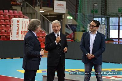 Premiazione BARTOCCINI GIOIELLERIE PERUGIA  per la promozione in SERIE A1 IT, 27 aprile 2019 - Foto: Michele Benda per VolleyFoto.it [Riferimento file: 2019-04-27/NZ6_3290]