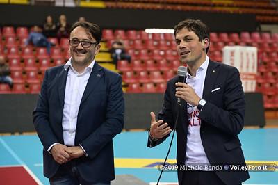 Premiazione BARTOCCINI GIOIELLERIE PERUGIA  per la promozione in SERIE A1 IT, 27 aprile 2019 - Foto: Michele Benda per VolleyFoto.it [Riferimento file: 2019-04-27/NZ6_3188]