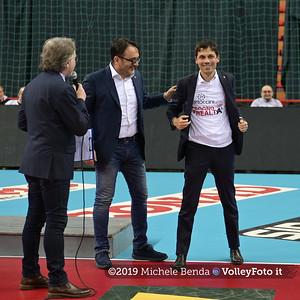 Premiazione BARTOCCINI GIOIELLERIE PERUGIA  per la promozione in SERIE A1 IT, 27 aprile 2019 - Foto: Michele Benda per VolleyFoto.it [Riferimento file: 2019-04-27/NZ6_3176]