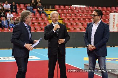 Premiazione BARTOCCINI GIOIELLERIE PERUGIA  per la promozione in SERIE A1 IT, 27 aprile 2019 - Foto: Michele Benda per VolleyFoto.it [Riferimento file: 2019-04-27/NZ6_3267]