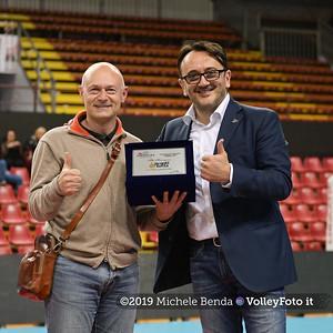 Premiazione BARTOCCINI GIOIELLERIE PERUGIA  per la promozione in SERIE A1 IT, 27 aprile 2019 - Foto: Michele Benda per VolleyFoto.it [Riferimento file: 2019-04-27/NZ6_3325]