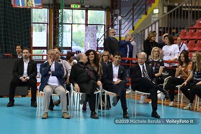 Premiazione BARTOCCINI GIOIELLERIE PERUGIA  per la promozione in SERIE A1 IT, 27 aprile 2019 - Foto: Michele Benda per VolleyFoto.it [Riferimento file: 2019-04-27/NZ6_3150]