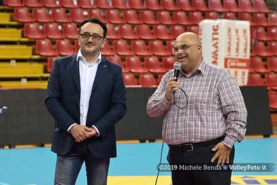 Premiazione BARTOCCINI GIOIELLERIE PERUGIA  per la promozione in SERIE A1 IT, 27 aprile 2019 - Foto: Michele Benda per VolleyFoto.it [Riferimento file: 2019-04-27/NZ6_3241]