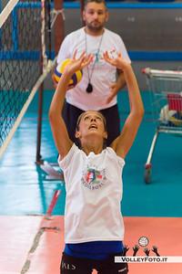 Eleonora Gatto sotto lo sguardo attento di coach Gian Luca Ricci