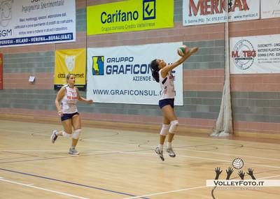 SGM Graficonsul SAN MARIANO vs Gecom Security PERUGIA 8ª Giornata Campionato Italiano di Volley Femminile, Serie B1, girone C