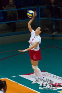 Edilizia Passeri & Edil Rossi Bastia - Volley Paestum   22ª Giornata Campionato Italiano di Vollley Femminile, Serie B1 girone D [2012/13]