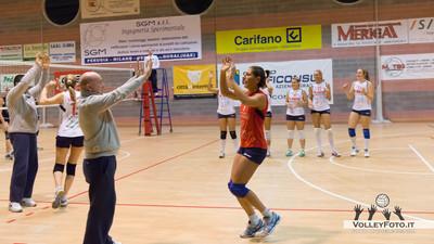SGM Gaficonsul San Mariano PG - Valdarno Volley Figline FI 12ª giornata Campionato Italiano di Volley Femminile Serie B1 girone C 2012/13