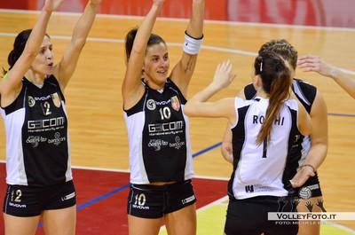 Gecom Security Perugia  - Viserba Volley RN   23ª Giornata, Campionato Italiano di Volley Femminile Serie B1 girone C [2012/13]