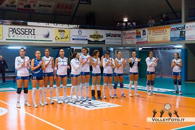 Senesi Aversa Edilizia Passeri & Edil Rossi Bastia - Senesi Aversa > 16ª Giornata Campionato Italiano di Volley Femminile Serie B1 girone D - 2012/13