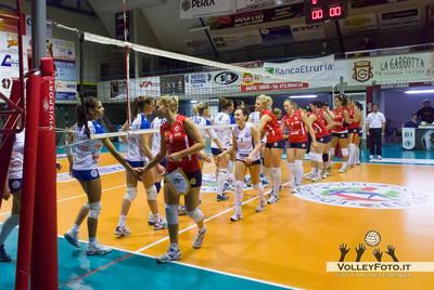 Edilizia Passeri & Edil Rossi BASTIA vs Ecosunpower POTENZA 10ª giornata Campionato Italiano di Volley Femminile serie B1 - 2012/13