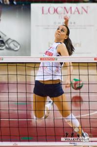 Francesca Babbi Gecom Security Perugia  - SGM Graficonsul San Mariano | 21ª Giornata, Campionato Italiano di Volley Femminile Serie B1 girone C [2012/13]