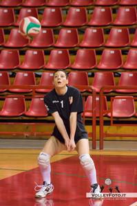 Luisa Rocchi Gecom Security Perugia  - SGM Graficonsul San Mariano | 21ª Giornata, Campionato Italiano di Volley Femminile Serie B1 girone C [2012/13]