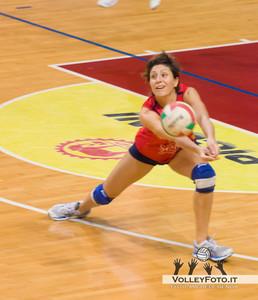 Barbara Guglielmi Gecom Security Perugia  - SGM Graficonsul San Mariano | 21ª Giornata, Campionato Italiano di Volley Femminile Serie B1 girone C [2012/13]