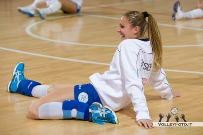 New Volley Gricignano - Edilizia Passeri e Edil Rossi Bastia 7ª Giornata Andata - Campionato Italiano di Volley Femminile Serie B1 (girone D) 2012/13