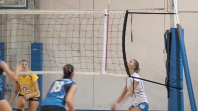 Super Slow Motion video New Volley Gricignano - Edilizia Passeri e Edil Rossi Bastia 7ª Giornata Andata - Campionato Italiano di Volley Femminile Serie B1 (girone D) 2012/13