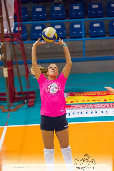 Cecilia Crisanti, palleggio