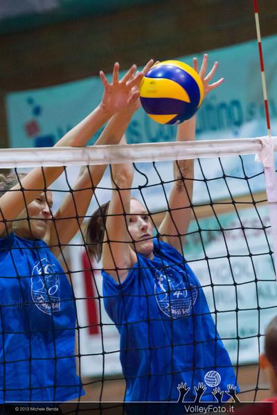 Cristina Silvestri, Valentina Barbolini, muro