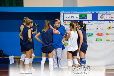 Dario Sanna, time out Todi Volley