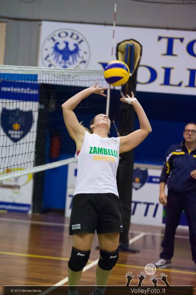 Andrea Sacco, palleggio