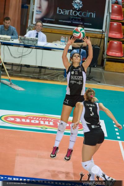 2013.10.26 Gecom Security Perugia - Lardini Filottrano AN | 2ª Giornata Campionato Italiano di Volley Femminile, Serie B1 girone C, 2013/14 (id:_MBD5034)