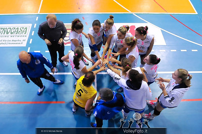 Edil Rossi Volley Bastia time out