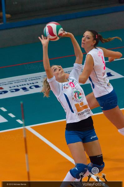 Eleonora Gatto palleggio Catia Ceppitelli