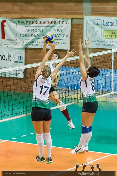 2013.11.09 Lucky Wind Trevi - Fortitudo Città di Rieti | 4ª giornata, Campionato italiano di Pallavolo femminile, Serie B1 girone C, 2013/14 (id:_MBD9373)