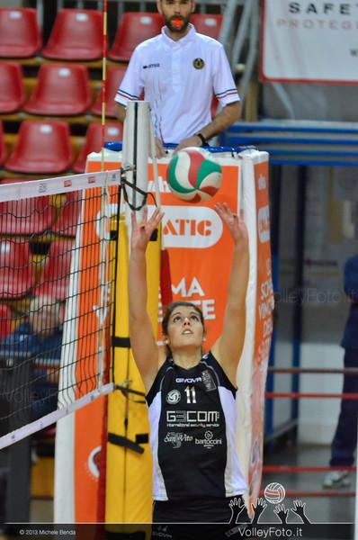 Giulia Cecato, palleggio