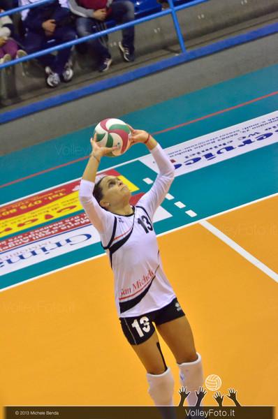 Claudia STOLFI, palleggio