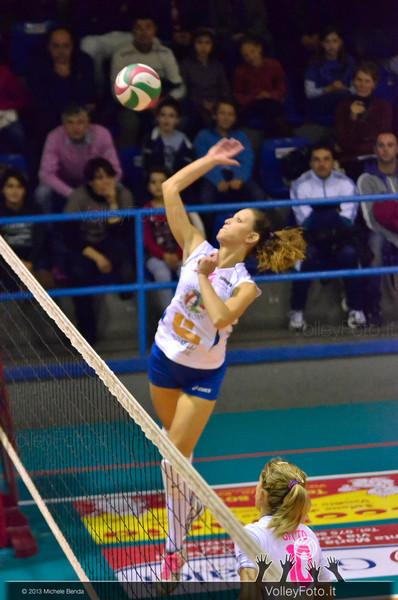 Martina Tiberi, attacco