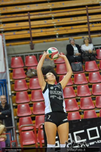 Alessia Di Mitri, palleggio