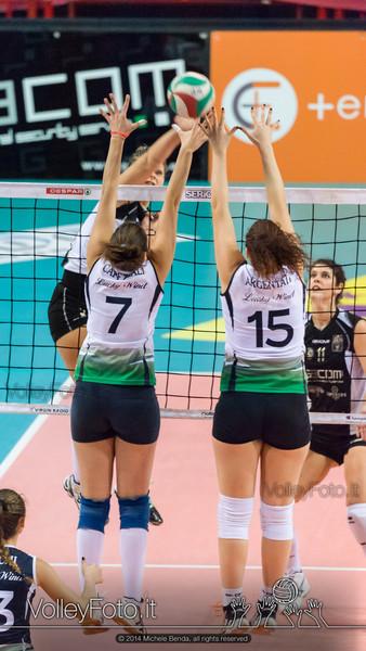 Jessica Puchaczewsski, attacco, Alessandra Capezzali, Arianna Argentati, muro