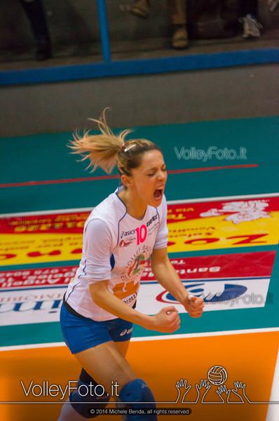 Eleonora Gatto, esulta