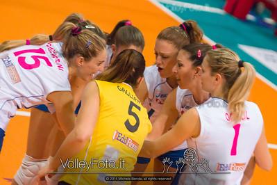 Edil Rossi Volley Bastia, starting six