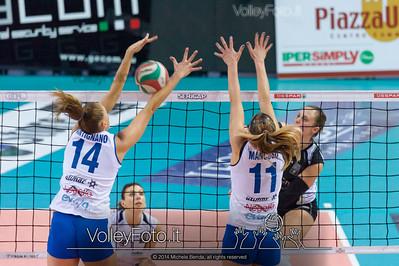 Francesca Valentini, attacco, Fabiana Antignano, Natascia Mancuso, muro