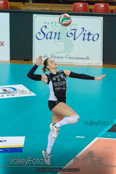 Francesca Valentini, battuta