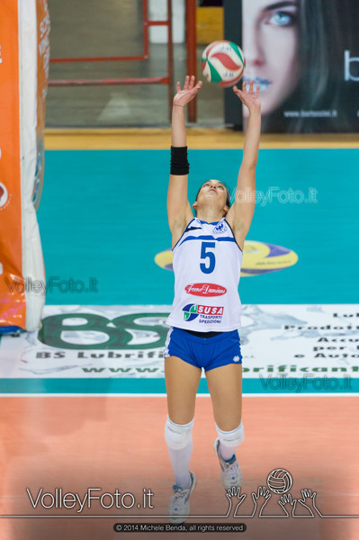 Ilaria Angelelli, palleggio