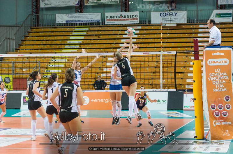 Corinna Cruciani, attacco