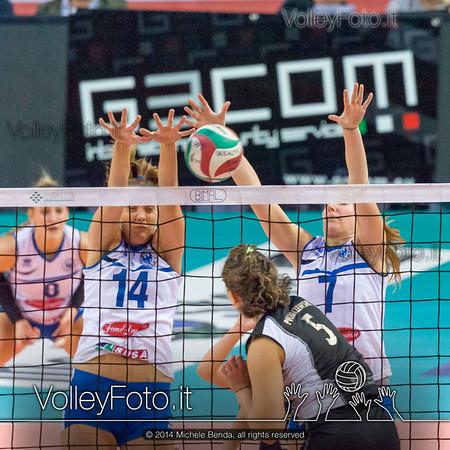 Jessica Puchaczewsski, attacco, Fabiana Antignano, Alice Lo Cascio, muro
