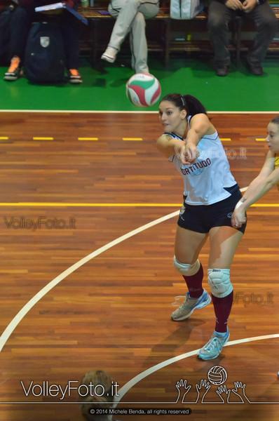 Fortitudo Città di Rieti - Edil Rossi Volley Bastia | 12ª giornata Campionato Italiano di Pallavolo Femminile, Serie B1 girone C [2013/14] (id: 2014.01.11.MBY_0866)
