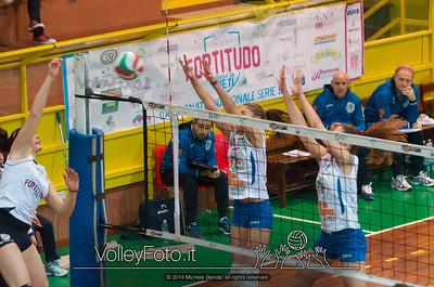 Fortitudo Città di Rieti - Edil Rossi Volley Bastia | 12ª giornata Campionato Italiano di Pallavolo Femminile, Serie B1 girone C [2013/14] (id: 2014.01.11.MBY_1119)