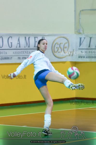 Fortitudo Città di Rieti - Edil Rossi Volley Bastia | 12ª giornata Campionato Italiano di Pallavolo Femminile, Serie B1 girone C [2013/14] (id: 2014.01.11.MBY_0717)