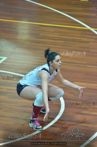 Fortitudo Città di Rieti - Edil Rossi Volley Bastia | 12ª giornata Campionato Italiano di Pallavolo Femminile, Serie B1 girone C [2013/14] (id: 2014.01.11.MBY_1063)