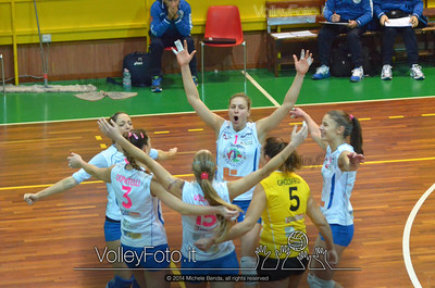 Edil Rossi Volley Bastia, esulta