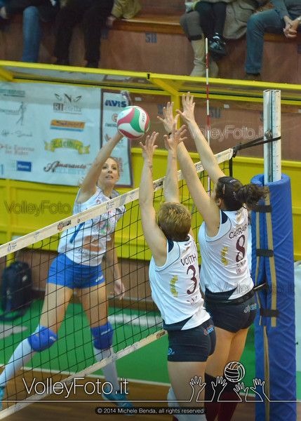 Serena Ubertini, attacco, Ildiko Vojth, Marina Carrara, muro